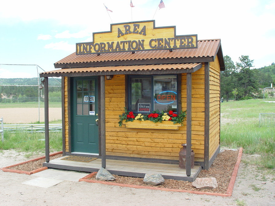 Larkspur, CO: Area welcome and visitor center 303-681-0398