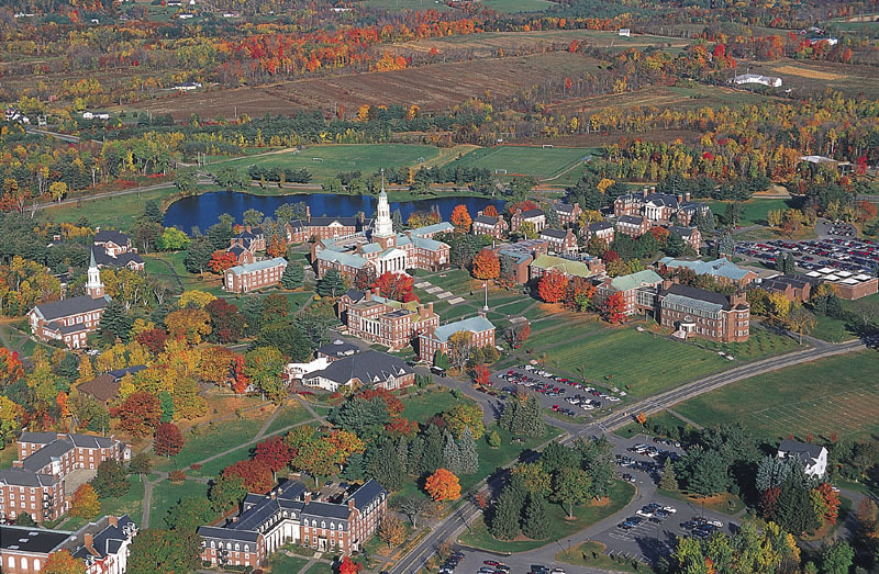 Waterville, ME : Colby College In the Fall