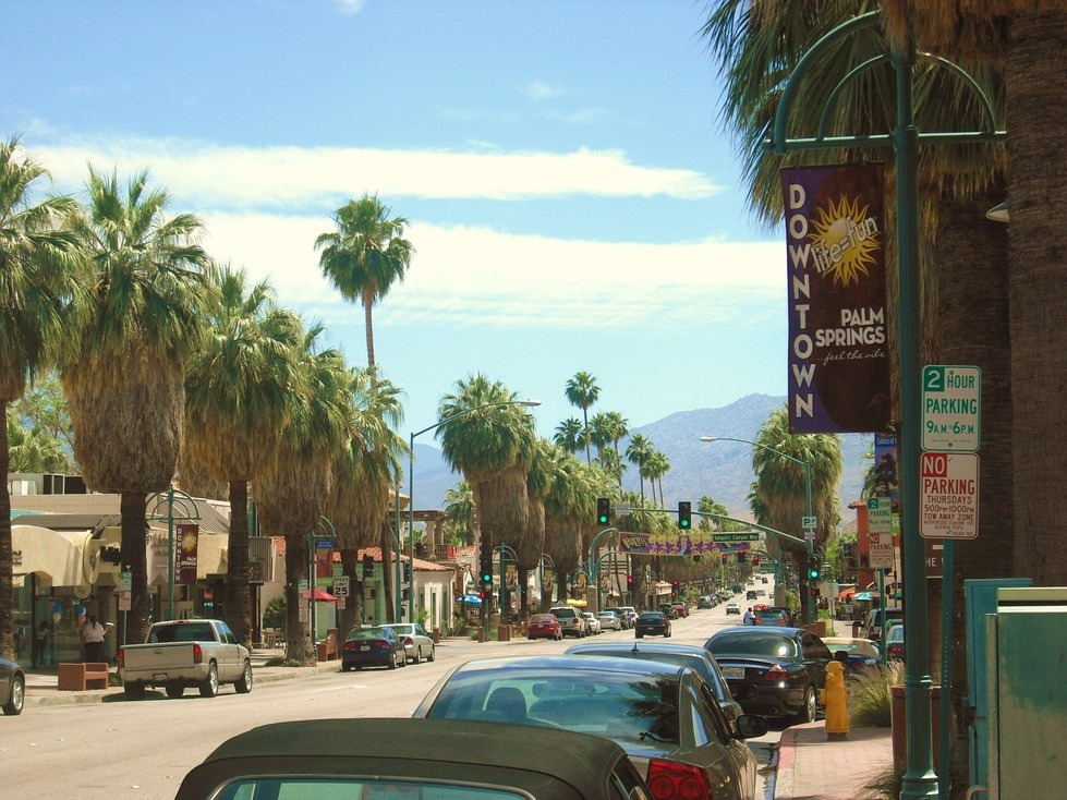 Palm Springs, CA : Downtown Palm Springs
