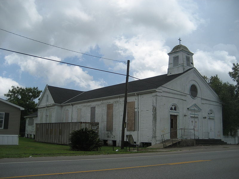 Violet, LA: Our Oady Of lourdes Catholic Church