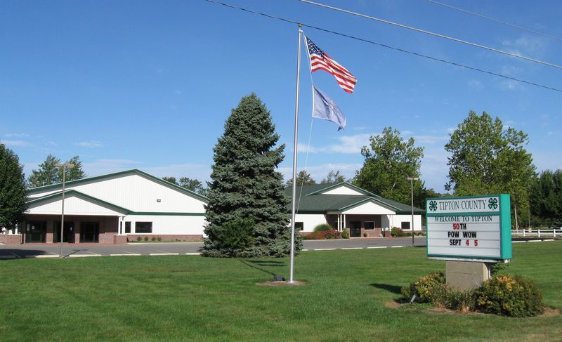 Tipton, IN : Across Main St., on the south side of town, is the county 4-H Grounds, a facility used for many community activities, year-round.