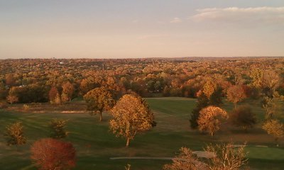 Miamisburg, OH: On Top of Mound last Fall