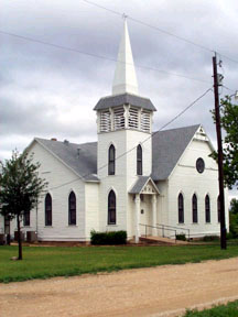 Paint Rock, TX : Methodist Church, Paint Rock, TX