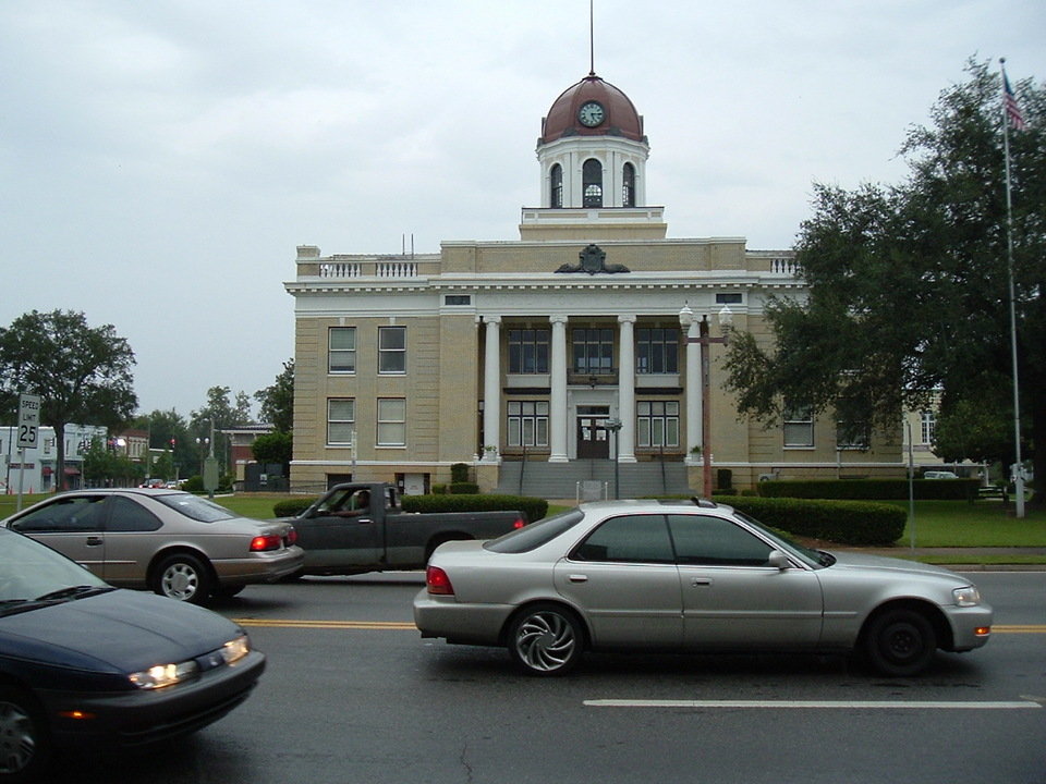 Quincy, FL : Gadsden County Courthouse
