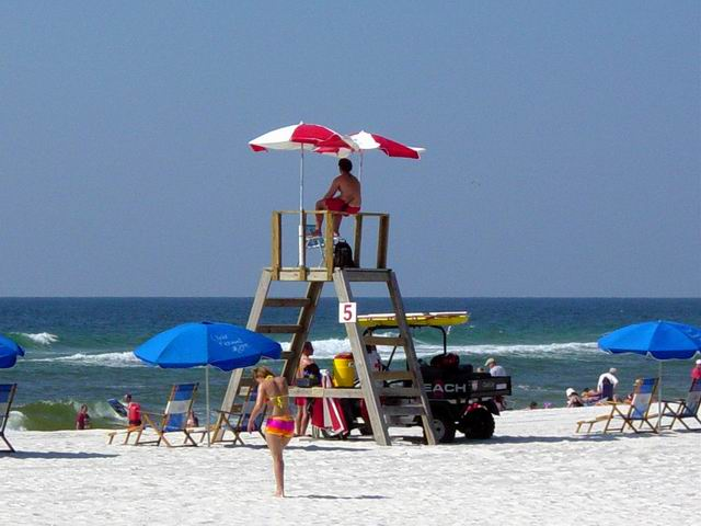 Gulf Shores, AL : day at the beach