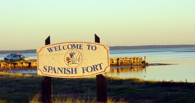 Spanish Fort, AL: Spanish Fort is on Mobile Bay
