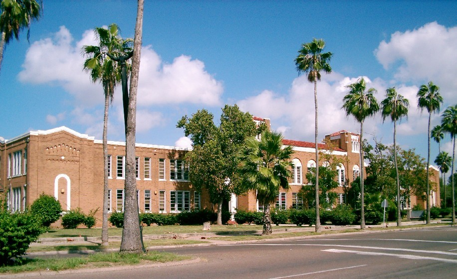 Brownsville, TX : Original Brownsville High School