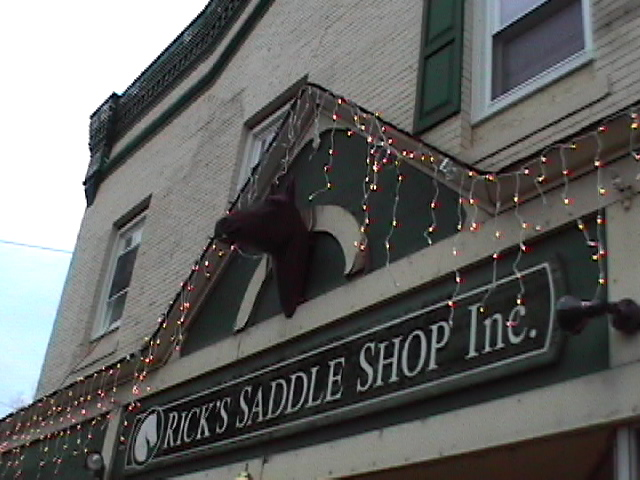 Englishtown, NJ : Ricks Saddle Shop on Main Street in Englishtown