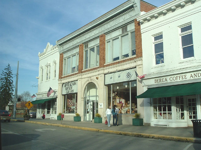 Berea, KY: Quilt Shop, Appalachian Fireside Gallery and Berea Coffee and Tea, Berea, Kentucky
