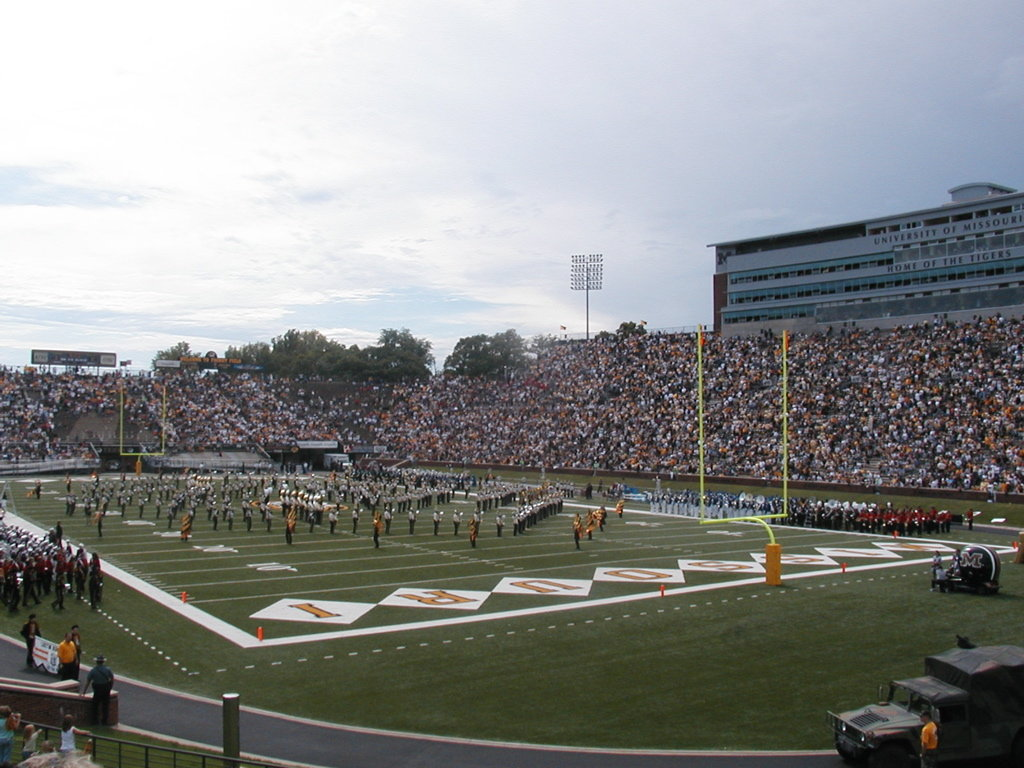 Columbia, MO : Memorial Stadium, Home of the MU Tigers, Columbia, MO