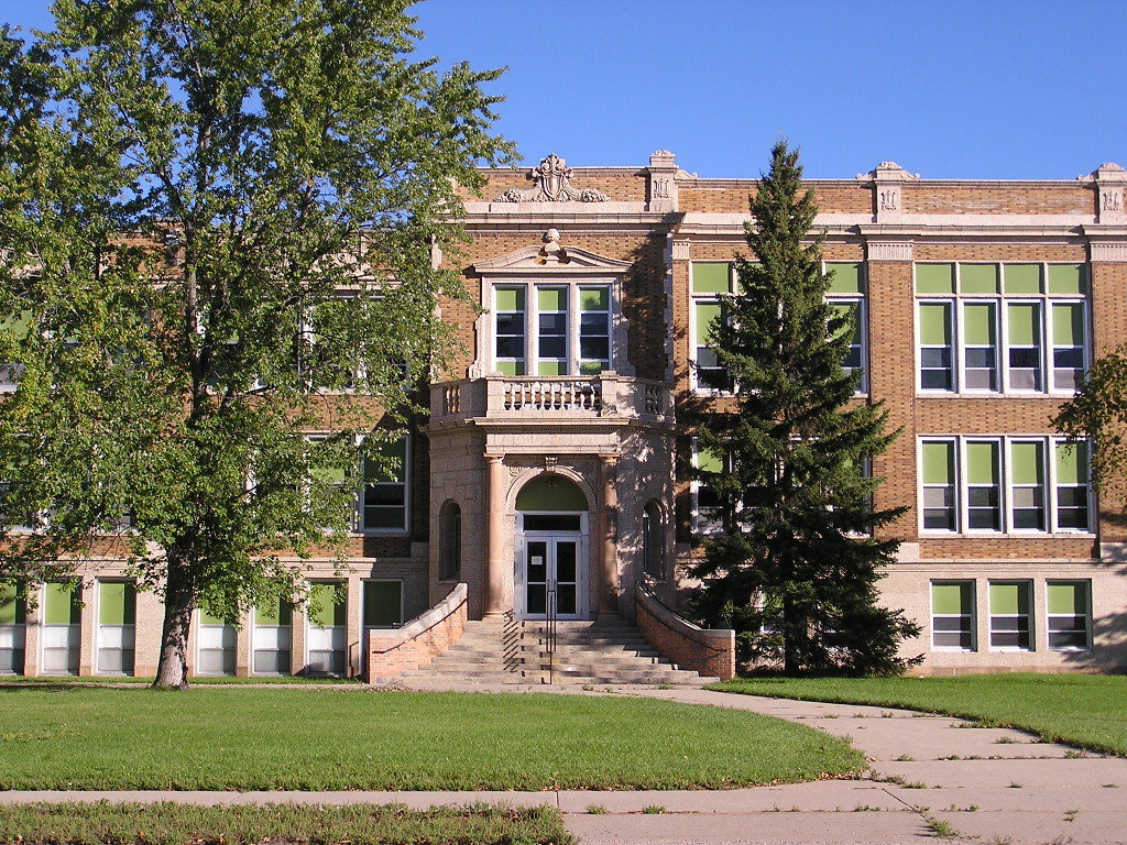 Bemidji, MN : Old High School