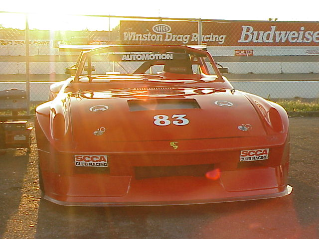 Napa, CA : Porsche at Sears Point Raceway near Napa, California