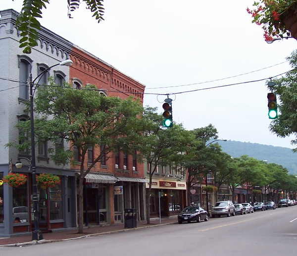 Corning (IA) United States  city images : Corning, NY : Market St. Corning photo, picture, image New York at ...