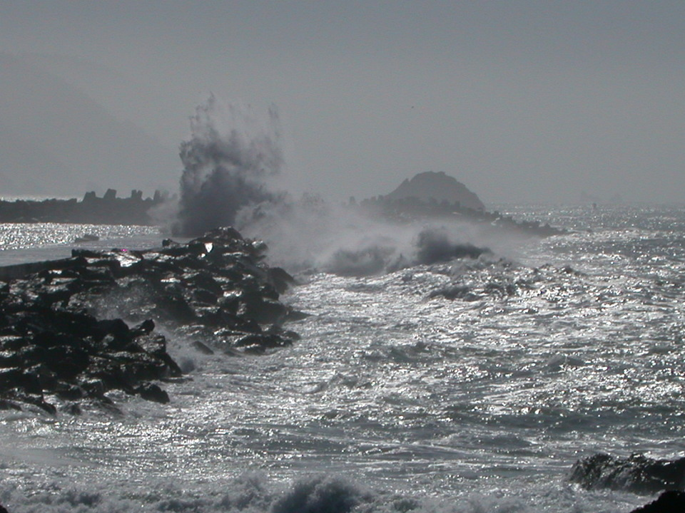 Crescent City, CA: Crescent City's Breaker Wall