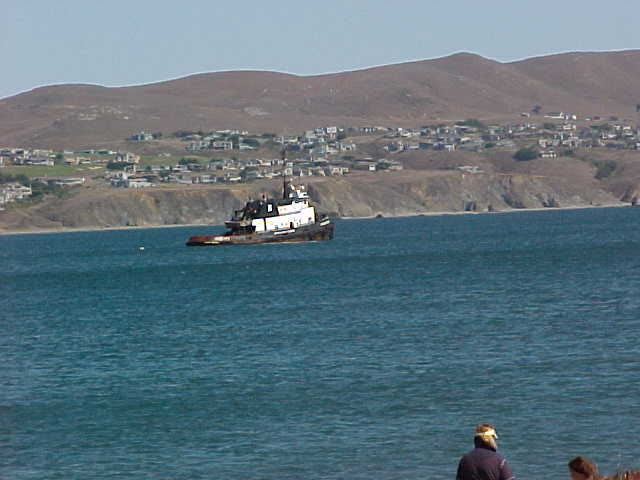 bodega bay ca fishing boat ankored at bodega bay photo