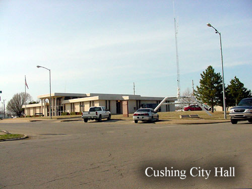 Cushing, OK: Cushing City Hall