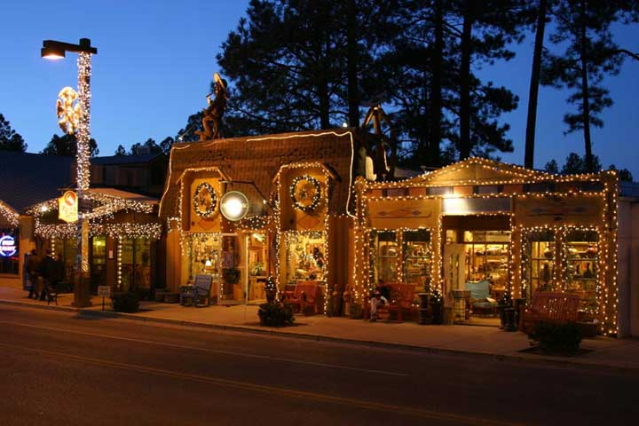 Ruidoso, NM : Ruidoso Downtown at Christmas