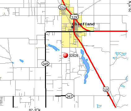 Manattee Road, FL (32626) map