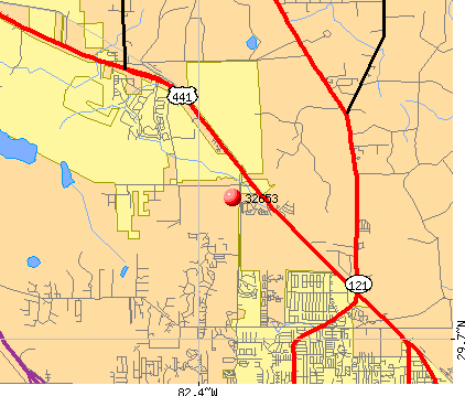 Gainesville, FL (32653) map