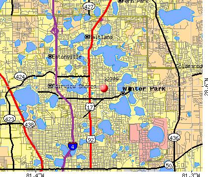 Orlando Florida Area Code Map.32789 Zip Code Winter Park Florida Profile Homes Apartments