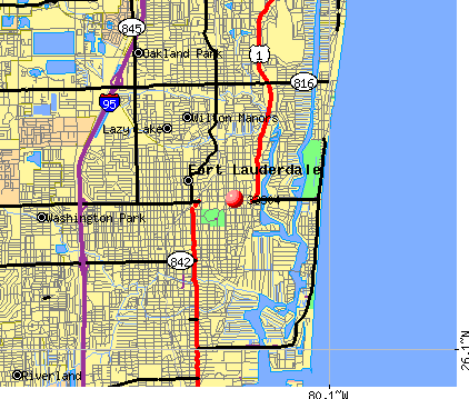 Fort Lauderdale, FL (33304) map
