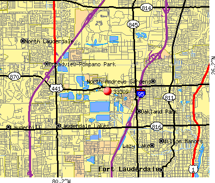 Fort Lauderdale, FL (33309) map