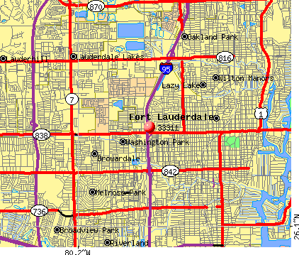 Fort Lauderdale, FL (33311) map