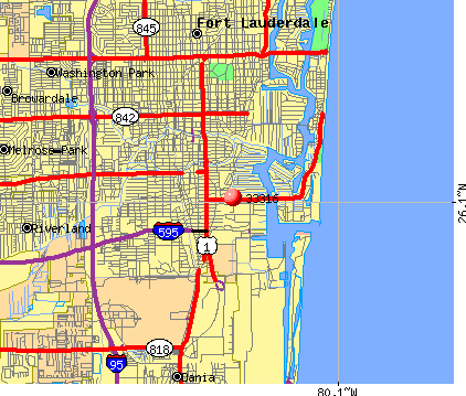 Fort Lauderdale, FL (33316) map