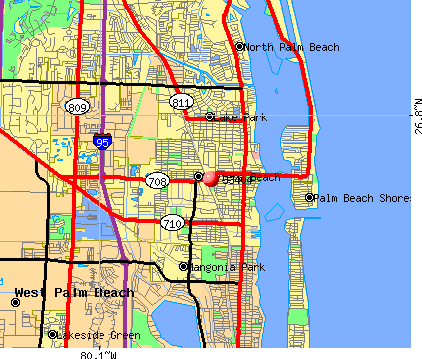 Riviera Beach, FL (33404) map
