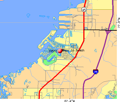 Apollo Beach, FL (33572) map