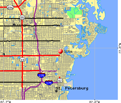 St. Petersburg, FL (33704) map