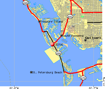 St. Pete Beach, FL (33706) map