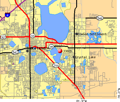 Lakeland, FL (33801) map