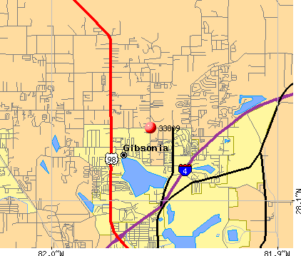 Lakeland, FL (33809) map