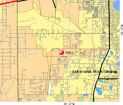 Lakeland, FL (33811) map