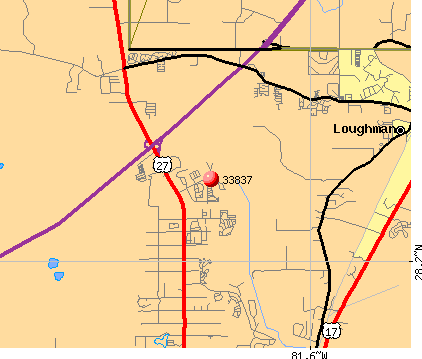 Davenport, FL (33837) map