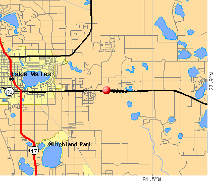 Lake Wales, FL (33853) map