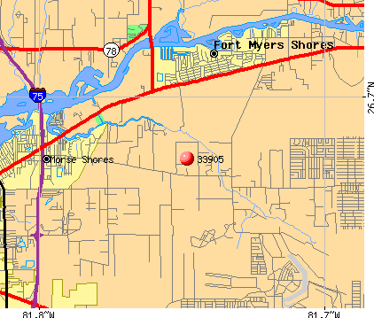 Buckingham, FL (33905) map