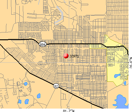 Lehigh Acres, FL (33971) map