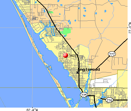 Englewood, FL (34223) map