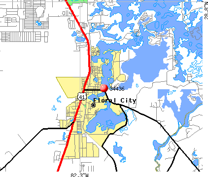 Floral City, FL (34436) map