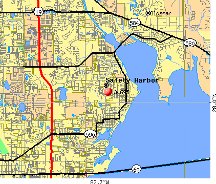Safety Harbor, FL (34695) map