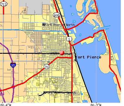Fort Pierce, FL (34950) map