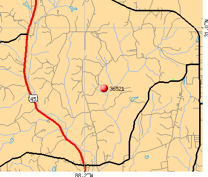Saraland, AL (36521) map