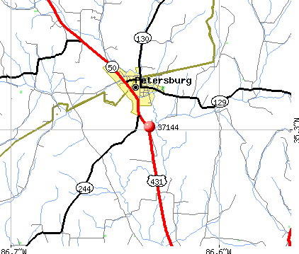 Lynchburg, TN (37144) map
