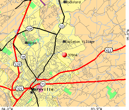Maryville, TN (37804) map
