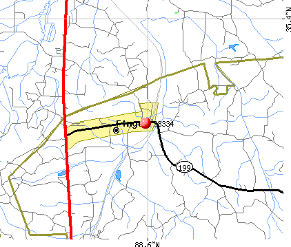 Finger, TN (38334) map