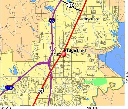 Ridgeland, MS (39157) map