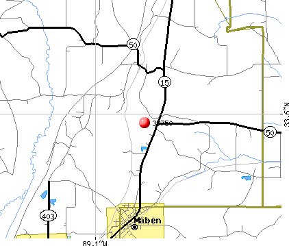 Maben, MS (39750) map