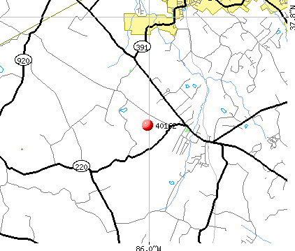 Radcliff, KY (40162) map